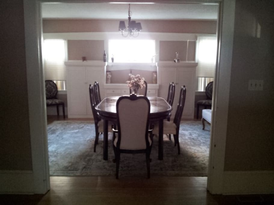 Lovely family dining area