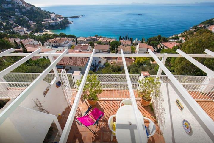Belle Petite Villa 6 pers Vue Sublime - Canyelles! - Roses - Casa
