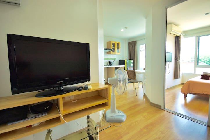 1 bedroom apartment WIFI Gym. #43 - Kathu