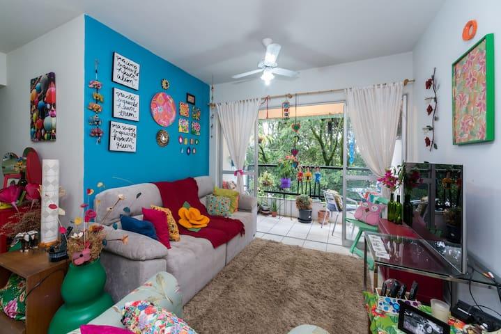 Quarto Aconchegante na Encruzilhada - Recife - Apartment