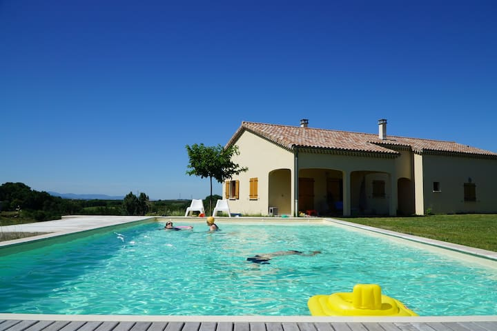 Luxury 3bd house with swimming pool - Les Planards