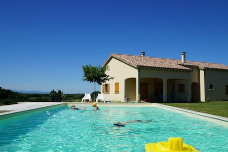 Luxury 3bd house with swimming pool - Les Planards - House