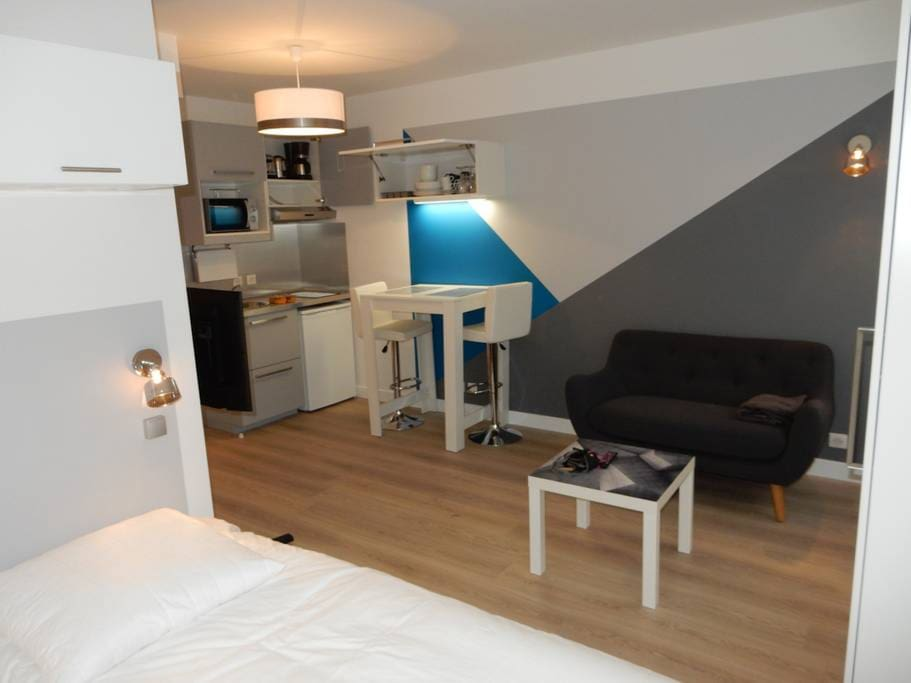 Studio design port cergy appartementen te huur in for Design appartement frankrijk