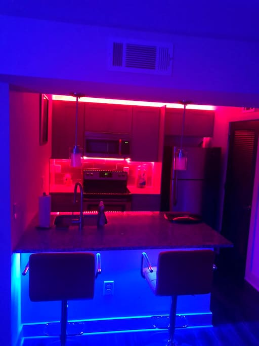 Illuminated Kitchen