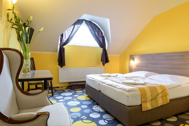 DOUBLE / TWIN room hotel Otakar ***