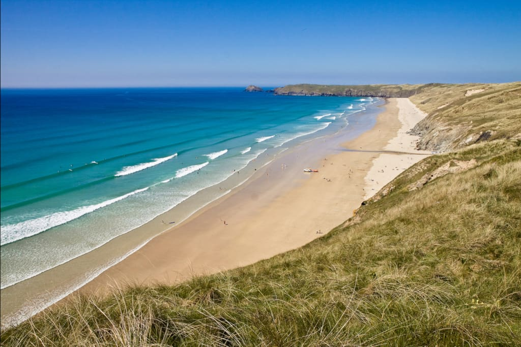 Walking distance to Perranporth's famous three mile long beach