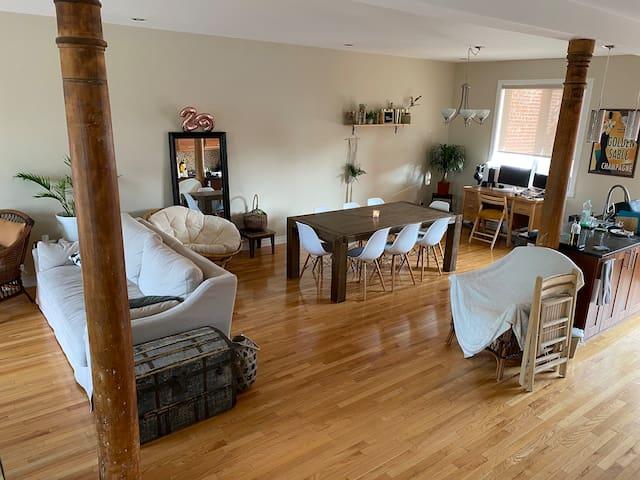 Grande chambre - appartement duplex