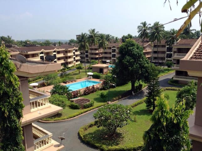 Central,comfortable 2BHK @Candolim - Goa