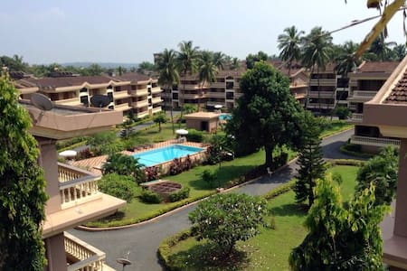 Central,comfortable 2BHK @Candolim - Goa - Apartament
