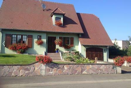 Gîte de Denis et Myriam, Wittisheim - Wittisheim - Haus