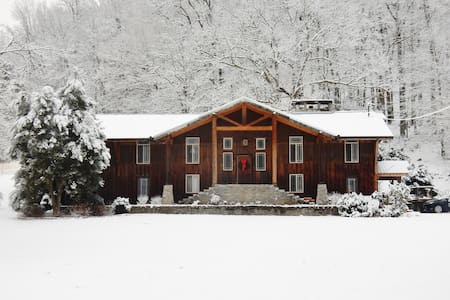 Cascade Hollow Lodge and Cottage - Normandie