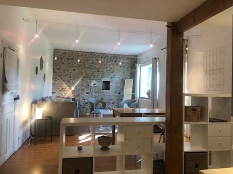 Studio l'Atelier dans le coeur du Béarn des Gaves