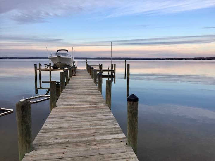 The River House, a Wicomico Beach Retreat