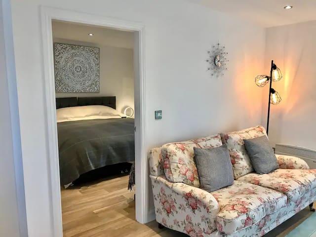 Lovely separate bedroom