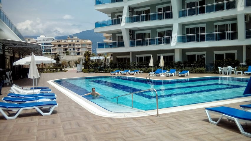 Luxurious brand new flat in Alanya