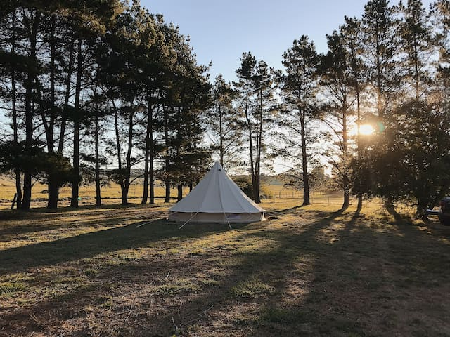 Glamping at Rockaway Farm - Southern Highlands