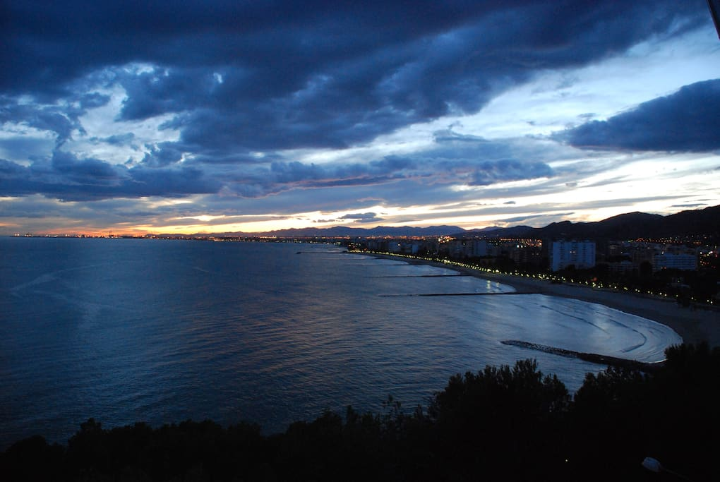 Benicassim at night