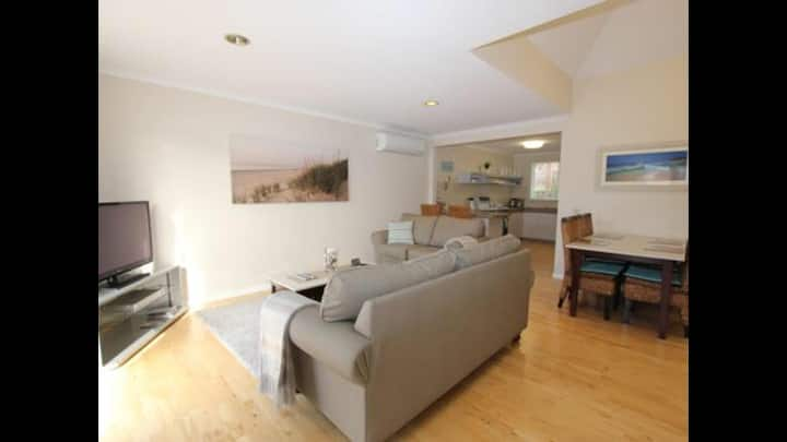 Self contained unit close to the beach