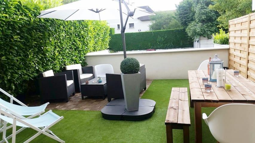 Appartement proche Disney/ Paris avec terrasse - Villiers-sur-Marne - Apartment