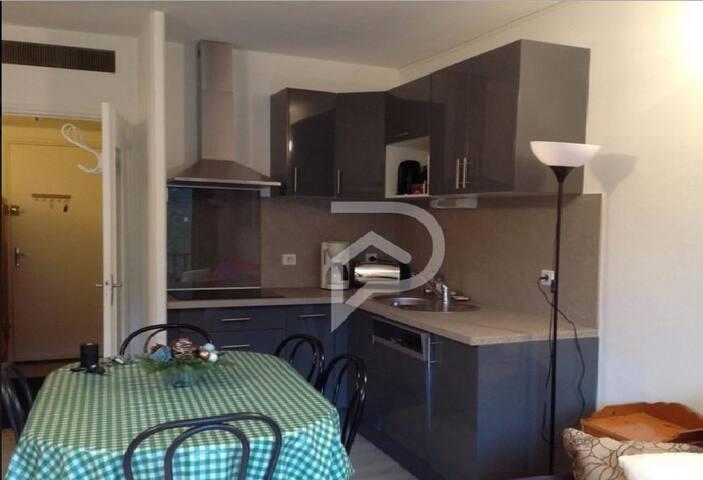 Bel appartement T2 pour 6 personnes