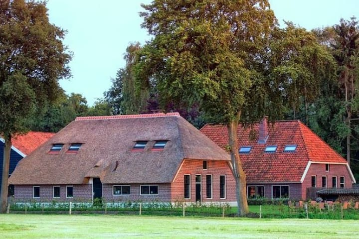 Beautiful group accommodation in Veluwe region