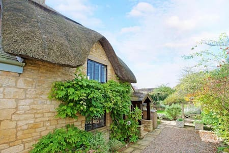 The Thatch, a Grade 11 listed Cotswold cottage
