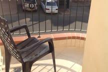 Balcon de la chambre parentale