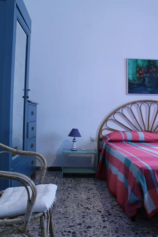 Stanza Blu in B&B Casa Caletta: fresco relax