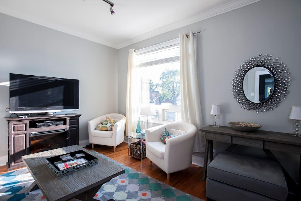 Living room on main floor