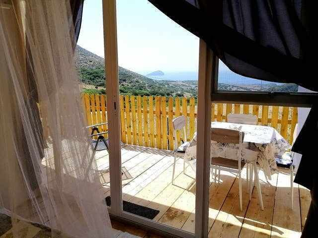 Shell tent, trendy a first in Sardinia, 4 pax