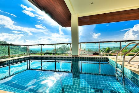 5 BDR Lux Ocean View Pool Villa V5 - Chalong
