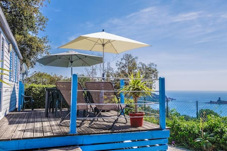 4 people bungalow with panoramic seaview - Le Dramont - Bungaló
