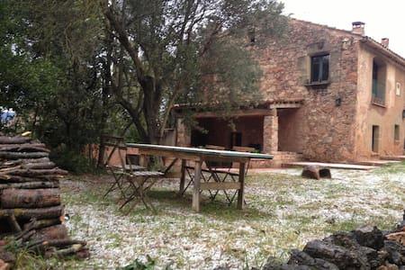 Casa típica de piedra junto a BCN - Caldes de Montbui - Casa