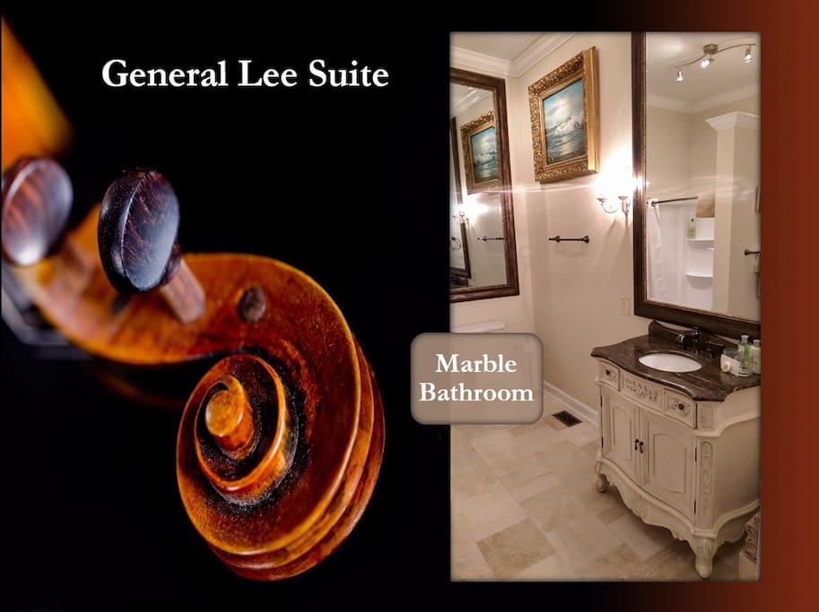 General Lee Marble Bathroom