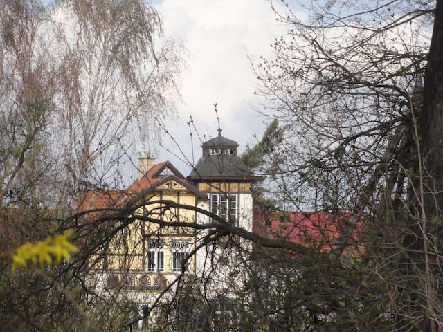Secesní vila ve starobylém městě Olomouc - Olomouc - Hus