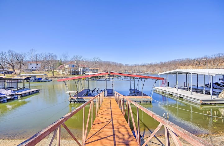 Waterfront Lake of the Ozarks Cabin w/ Boat Dock!
