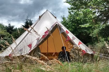 Bell tent with magic mountain view - Mynachlog-ddu - Stan