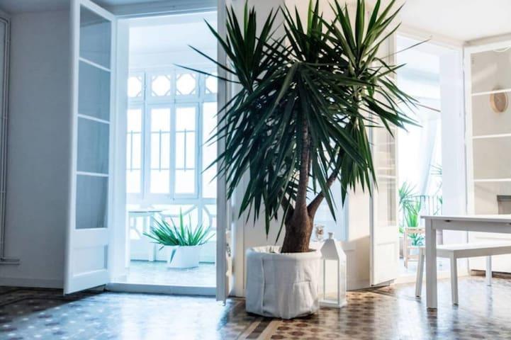 Modern/ central LOFT - Double BR - terrace/jacuzzi - Barcelona - Loft