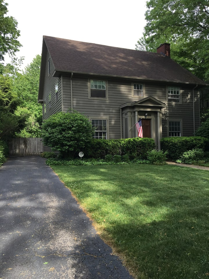 Historic home offering room near University Circle