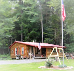 Perfect Romantic ADK Cabin Getaway! - Northville - Cabana