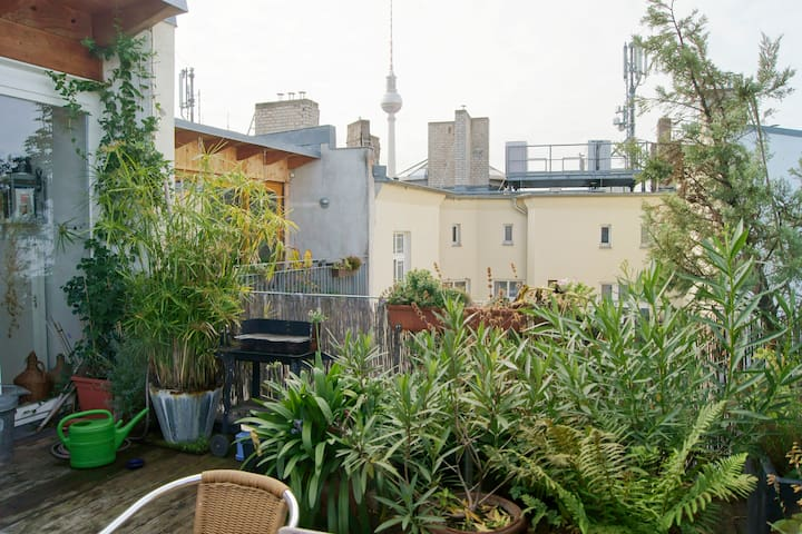 Downtown Above The Roofs In Berlin - Berlin - Condominium