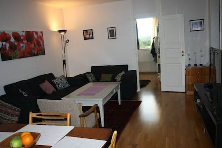 Cosy, clean and quiet apartment near busstopp - Lørenskog - Apartamento
