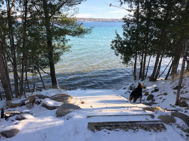 Public access to Torch Lake