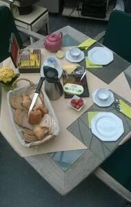 "Suite ""Mignonette"" with breakfast - Kuurne - 住宿加早餐"