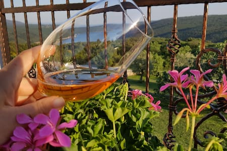 SUN WINE AND VIEW app. Leticija