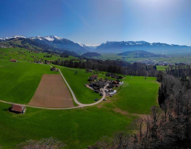 Bauernhof Zimmer mit Panoramablick