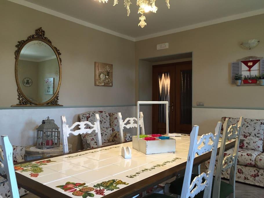 La sala della colazione.