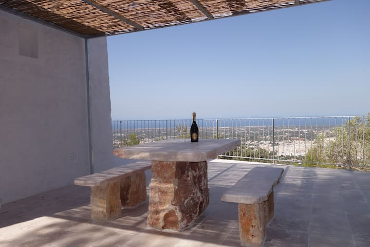 NEW Lamia with PANORAMIC SEA VIEW - Fasano