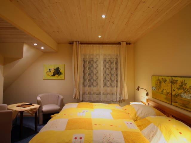 Doppelzimmer im Landgasthof zum Sorpetal