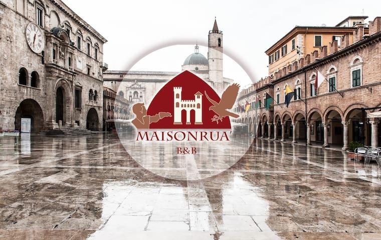 Maisonruà B&B  Rua dei Legnaiuoli - Ascoli Piceno - Apartemen